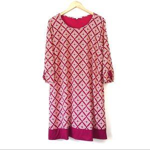 "41 Hawthorne Pink Geometric ""Reece Knit"" Dress"